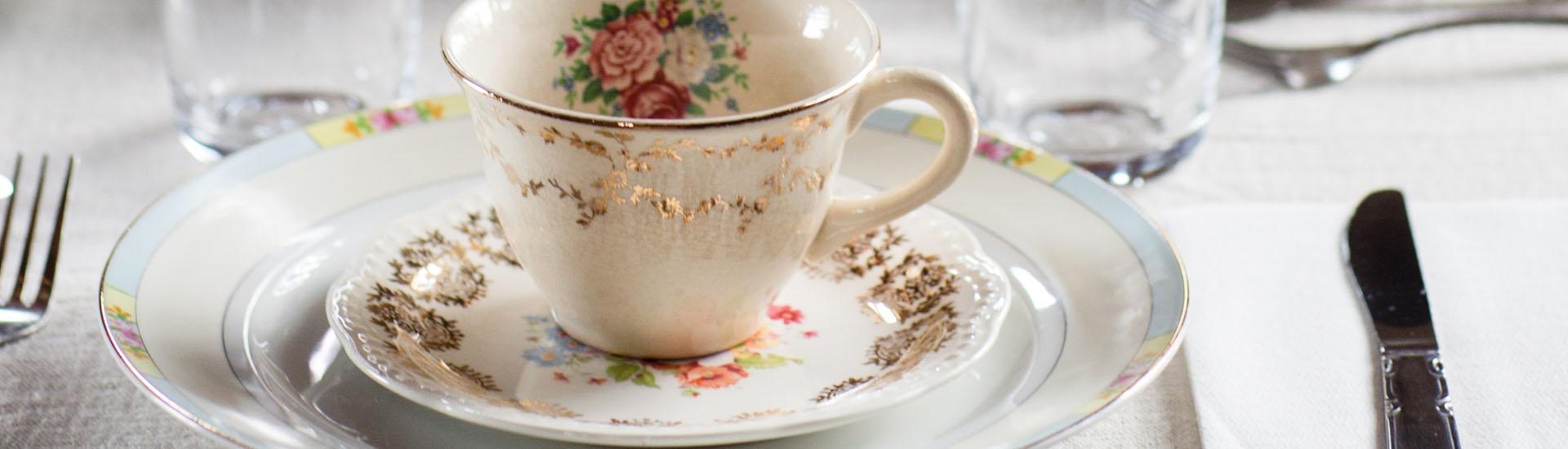 Planificación de eventos sociales y corporativos con té