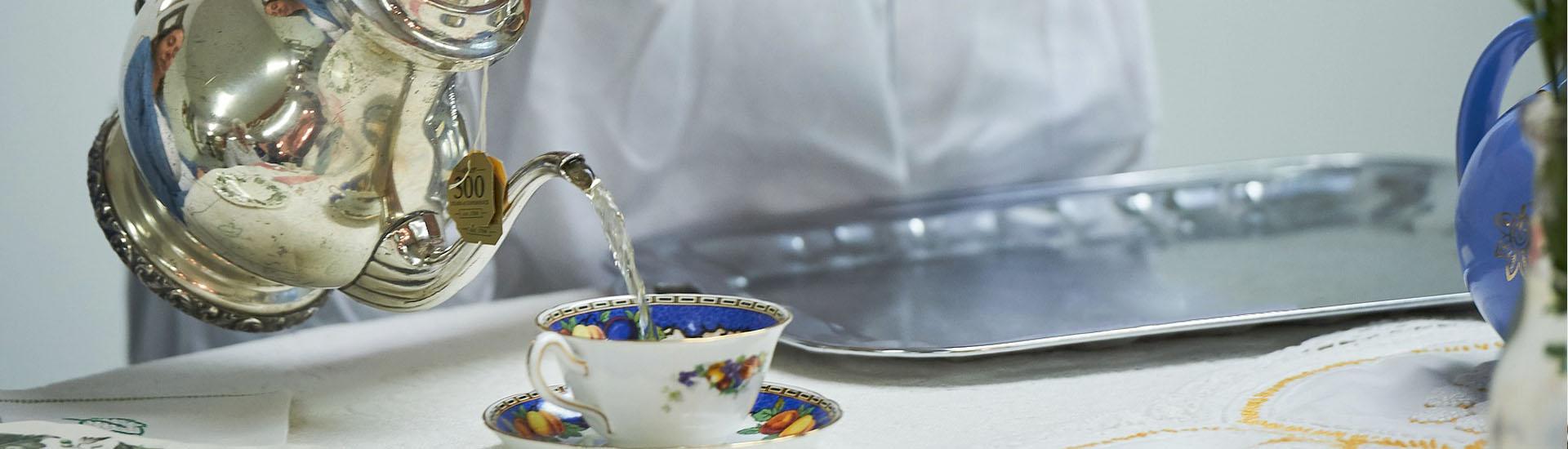 Protocolo y ceremonial del té