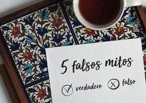 5 falsos mitos acerca del té